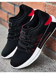hesapli -Erkek Ayakkabı Tissage Volant İlkbahar & Kış Atletik Ayakkabılar Koşu Günlük / Dış mekan için Beyaz / Siyah / Kırmızı / Siyah / Yeşil