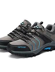 hesapli -Erkek Ayakkabı PU İlkbahar yaz Sportif Atletik Ayakkabılar Dağ Yürüyüşü Atletik için Gri / Sarı / Yeşil