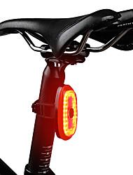 Недорогие -Лазер Велосипедные фары Задняя подсветка на велосипед огни безопасности Горные велосипеды Велоспорт Велоспорт Вращающийся Интеллектуальная индукция Быстросъемный Градиент цвета USB 1000 lm