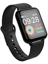 Недорогие -KUPENG B57B Универсальные Умный браслет Android iOS Bluetooth Спорт Водонепроницаемый Пульсомер Измерение кровяного давления Сенсорный экран / Датчик для отслеживания сна / Найти мое устройство