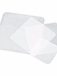 Недорогие -Еда силикона 4pcs свежая оборачивает многоразовую крышку уплотнения простирается кухонные инструменты