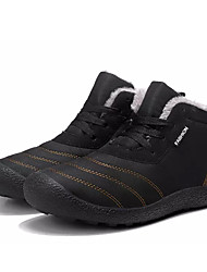 hesapli -Erkek Ayakkabı Süet Kış Günlük Çizmeler Bootiler / Bilek Botları Günlük için Siyah / Mavi / Koyu Yeşil
