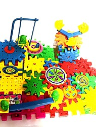 Недорогие -Взаимосоединяющиеся блоки Для школы Геометрический узор Компактный дизайн Робот Куски Для подростков дошкольный Все Игрушки Подарок