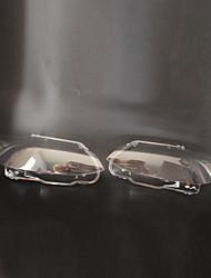 Недорогие -2pcs Автомобиль Автомобильные световые чехлы прозрачный Новый дизайн для Головной свет Назначение BMW 2006 / 2007 / 2008