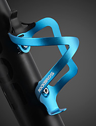 Недорогие -ROCKBROS Бутылку воды клеткой Компактность Легкость Прочный Простота установки Назначение Велоспорт Шоссейный велосипед Горный велосипед Алюминиевый сплав Серебряный Красный Синий