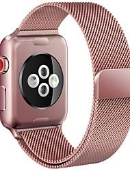 Недорогие -Ремешок для часов для Apple Watch Series 4/3/2/1 Apple Миланский ремешок Металл Повязка на запястье