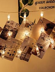 Недорогие -Светодиодный светильник Brelong 6м 40л теплый белый свет всегда яркий со вспышкой