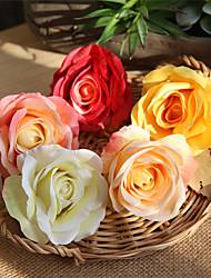 Недорогие -Искусственные Цветы 5 Филиал Классический Деревня Свадьба Розы Букеты на стол