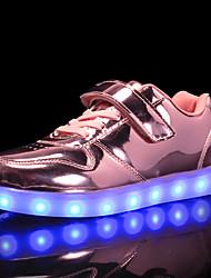Недорогие -Мальчики / Девочки Обувь Синтетика Наступила зима Обувь с подсветкой Кеды LED для Дети / Для подростков Золотой / Серебряный / Розовый