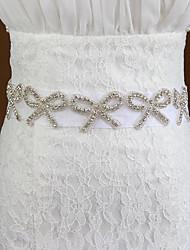Недорогие -Тюль Свадьба / Особые случаи Кушак С Стразы Жен. Пояса и ленты