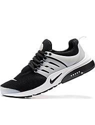 Недорогие -Муж. Легкие подошвы Сатин / Эластичная ткань Весна & осень Спортивная обувь Беговая обувь Дышащий Черно-белый / Атлетический