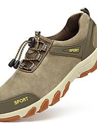 hesapli -Erkek Ayakkabı Süet İlkbahar & Kış Sportif / Günlük Atletik Ayakkabılar Dağ Yürüyüşü Günlük / Dış mekan için Mavi / Haki