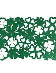 Недорогие -Дом многофункциональный творческий зеленый украшения четыре листа зеленый изоляционный коврик полый против ожогов столовых