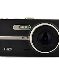 Недорогие -H83 1080p / Full HD 1920 x 1080 Автомобильный видеорегистратор 120° / 140° Широкий угол 12.0 Мп КМОП 4 дюймовый IPS Капюшон с Ночное