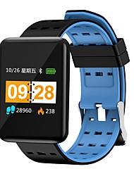baratos -Indear J20 Pulseira inteligente Android iOS Bluetooth Smart Esportivo Impermeável Monitor de Batimento Cardíaco Medição de Pressão Sanguínea Podômetro Aviso de Chamada Monitor de Atividade Monitor de