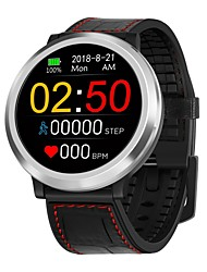 abordables -BoZhuo Q68S Bracelet à puce Android iOS Bluetooth Sportif Imperméable Moniteur de Fréquence Cardiaque Mesure de la pression sanguine Podomètre Rappel d'Appel Moniteur de Sommeil Rappel sédentaire