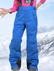 Недорогие -MARSNOW® Мальчики Девочки Лыжные брюки Водонепроницаемость С защитой от ветра Теплый Отдых и Туризм Зимние виды спорта Хлопок Брюки Тёплые брюки Снегурочка Одежда для катания на лыжах / Зима