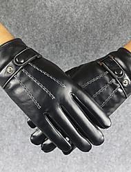 Недорогие -Муж. Для офиса / Классический С пальцами Перчатки Однотонный