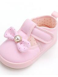 Недорогие -Девочки Обувь Хлопок Лето Обувь для малышей Кеды На липучках для Дети Светло-синий / Светло-Розовый / Светло-Зеленый
