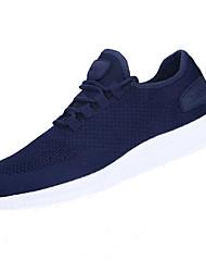 hesapli -Erkek Ayakkabı Tissage Volant İlkbahar yaz Sportif Atletik Ayakkabılar Koşu Atletik için Siyah / Kırmzı / Mavi