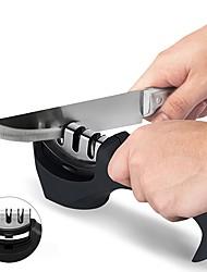 Недорогие -кухонный нож точилка 3 этапа съемный алмаз вольфрамовая сталь карбид керамический