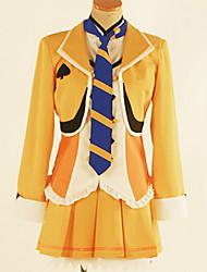 Недорогие -Вдохновлен Love Live Косплей Аниме Косплэй костюмы Японский Косплей Костюмы Английский Пальто / Блузка / Юбки Назначение Муж. / Жен.