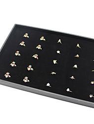 levne -Úložný prostor Organizace Sbírka šperků Látka Čtvercový Zábavné