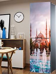 Недорогие -Наклейки на холодильник - 3D наклейки Пейзаж Кухня / Столовая