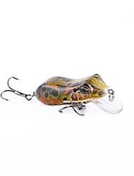 Недорогие -1 pcs Рыболовная приманка Жесткая наживка Лягушка ABS Прост в применении Плавающий Ловля на приманку Пресноводная рыбалка Ужение на спиннинг / Обычная рыбалка