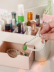 Недорогие -пластик Прямоугольная Милый Главная организация, 1шт Коробки для хранения / Коробки для бижутерии