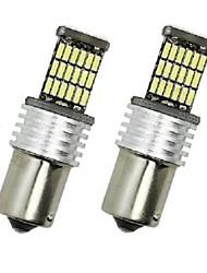 Недорогие -4шт BA15S (1156) Автомобиль Лампы 6 W SMD 4014 700 lm Светодиодная лампа Задний свет For Универсальный