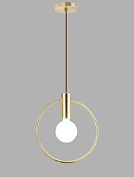Недорогие -Круглый Подвесные лампы Рассеянное освещение Электропокрытие Окрашенные отделки Металл Новый дизайн 110-120Вольт / 220-240Вольт