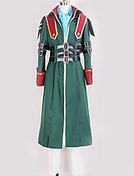 baratos -Inspirado por Fantasias Fantasias Anime Fantasias de Cosplay Ternos de Cosplay Design Especial Calças / Mais Acessórios / Ocasiões Especiais Para Homens / Mulheres