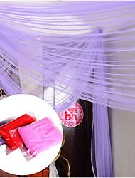 Недорогие -Креатив / Сплошной цвет Сетка / Сеть Свадебные ленты - 3 pcs Пьеса / Установить Шелковая лента Жилой / В помещении / На открытом воздухе
