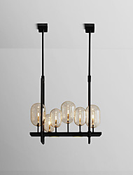cheap -ZHISHU 6-Light Geometrical / Novelty Chandelier Ambient Light Painted Finishes Metal Glass Creative, New Design 110-120V / 220-240V
