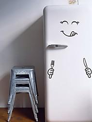 Недорогие -Наклейки для туалета - Простые наклейки Геометрия Гостиная / Спальня / Кухня