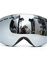 Недорогие -сноуборд лыжные очки два слоя линзы уф-защита анти-туман мотоцикл вождение серый