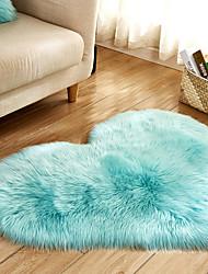 billige -Område tæpper Moderne Polyester, Heart Shape Overlegen kvalitet Rug