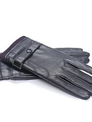 Недорогие -Полныйпалец Муж. Мотоцикл перчатки Кожа Сенсорный экран / Сохраняет тепло