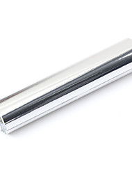 Недорогие -20x152 см серебро хром зеркало зеркало виниловая пленка автомобильная наклейка наклейка лист пузыря бесплатно