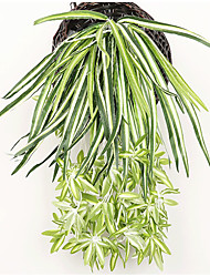 Недорогие -Искусственные Цветы 1 Филиал С креплением на стену Деревня Сценический реквизит Pастений Корзина Цветы