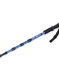 Недорогие -4 Секции Трекинговые палки Аксессуары Отставить и альпинизм Устройства 105см Выдвижной Случаи с ручной ремешок Совместное поддержка Вольфрам Алюминиевый сплав