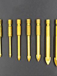 preiswerte -7 pcs Bohrer Praktisch Einfache Montage Sechskantkopf Factory OEM 3-10mm(7PC) Fit für elektrische Bohrmaschinen