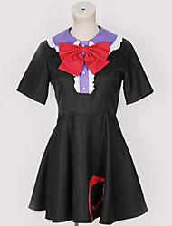 baratos -Inspirado por Projecto de Touhou Fantasias Anime Fantasias de Cosplay Ternos de Cosplay Contemporâneo Peitilho / Vestido / Ocasiões Especiais Para Homens / Mulheres