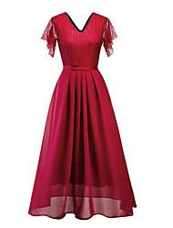 Недорогие -женское повседневное миди-слим платье-линия вино черный синий s m l xl