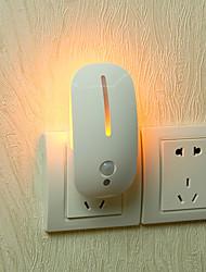 Недорогие -GoalStron 1шт LED Night Light Натуральный белый DC Powered Датчик человеческого тела 220-240 V