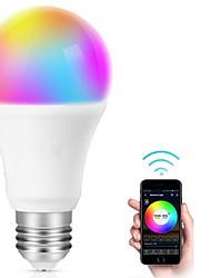 Недорогие -умная светодиодная лампа e27 wi-fi многоцветная лампочка совместимая с alexa echo google home a19 эквивалент 80 Вт rgb лампа для смены цвета