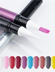 voordelige -1pc Nail Painting Tools Voor Vingernagel Teennagel Beste kwaliteit Romantische serie Nagel kunst Manicure pedicure Stijlvol Dagelijks