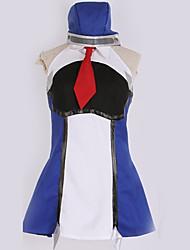 זול -קיבל השראה מ קוספליי קוספליי אנימה תחפושות קוספליי חליפות קוספליי פשוט שמלה / עוד אביזרים / קשר עבור בגדי ריקוד גברים / בגדי ריקוד נשים