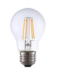 abordables -GMY® 1pc 3.5 W 350 lm E26 / E27 Ampoules à Filament LED A17 4 Perles LED COB Décorative Blanc Chaud 120 V